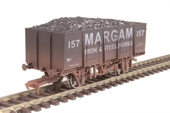 "4F-038-111 20 ton steel mineral wagon ""Margam"" - weathered"