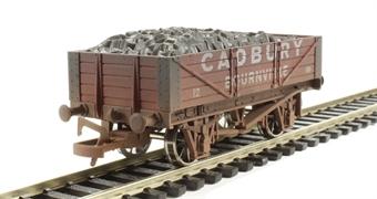 "4F-040-010 4 plank wagon ""Cadbury"" - weathered"