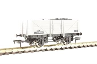4F-051-015 5 plank open wagon M318256 in BR grey