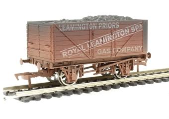 "4F-080-004 8 plank wagon ""Leamington Gas"" - weathered"