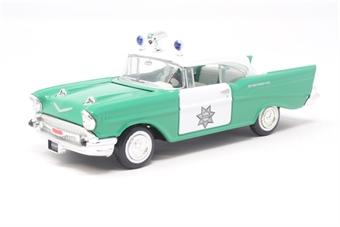 51301COR-PO01 Chevrolet Sheriff's Car - Pre-owned - Good box