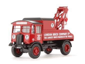 """76AEC004 AEC Matador J12 Wrecker """"London Brick"""""""