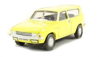 76ALL001 Austin Allegro estate in Citron Yellow