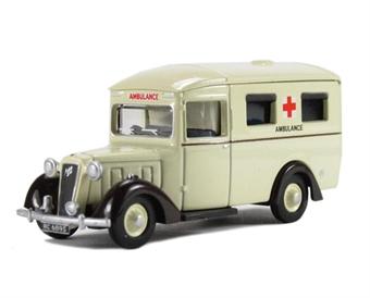76AMB001 Austin 18 Ambulance Rolls Royce Works