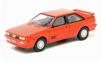 76AQ001 Audi Quattro Tornado Red