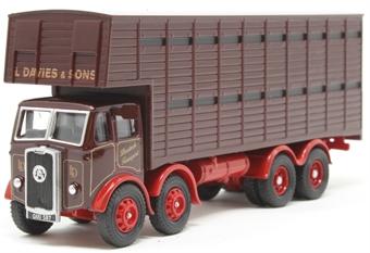 76ATKL005 Atkinson Cattle Truck L Davies & Sons