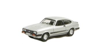 """76CAP001 Ford Capri Mk3 Strato Silver - Bodie (of """"The Professionals"""")"""