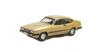 "76CAP002 Ford Capri Mk3 in Solar gold - (Doyle) of ""The Professionals"""