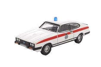 76CAP007 Ford Capri MkIII Merseyside Police