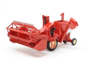 76CHV001 Combine Harvester - Red