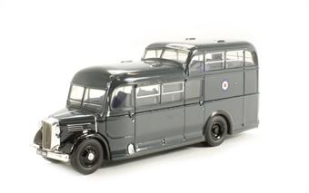 76COM001 Commer Commando bus RAF blue