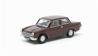 76COR1009 Ford Cortina Mk1 Black Cherry