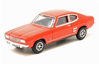 76CP002 Ford Capri Mk1 Sunset Red