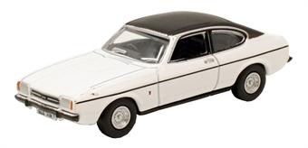 76CPR003 Ford Capri Mk2 White