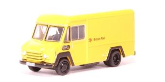 76CWT002 Commer Walk Thru crewbus in British Rail yellow