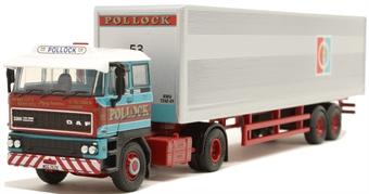 "76D28003 DAF 3300 Short Van Trailer - ""Pollock"""