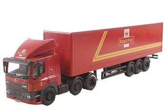 76DAF001 DAF 85 40ft Box Trailer Royal Mail
