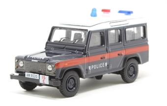 76DEF016 Land Rover Defender LWB Station Wagon - Hong Kong Police