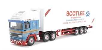 76EC001 ERF EC Olympic 40ft Fridge Scotlee Transport