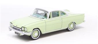 76FCC001 Ford Consul Capri Lime Green/Ermine White