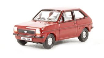 76FF001 Ford Fiesta MkI in Venetian red