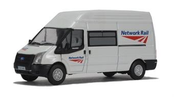 "76FT005 Ford Transit van high top LWB ""Network Rail"""
