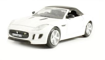 76FTYP002 Jaguar F Type in Polaris white