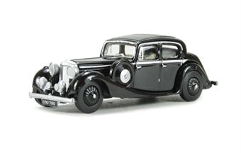 76JSS002 Jaguar SS 2.5 litre Saloon in black