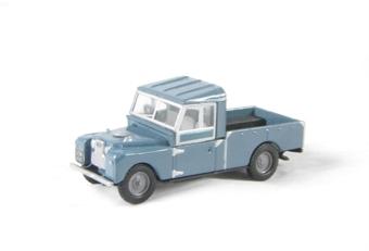 "76LAN1109002 Land Rover Series 1 109"" open in blue"