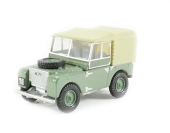 76LAN180001 Land Rover Series I 80 Sage green (HUE)