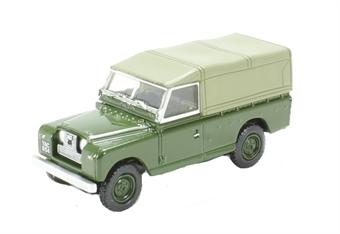 76LAN2011 Land Rover Series II Canvas Back Bronze Green