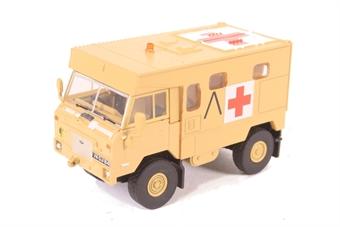 76LRFCA001 Land Rover FC Ambulance Gulf War Operation Granby 1991