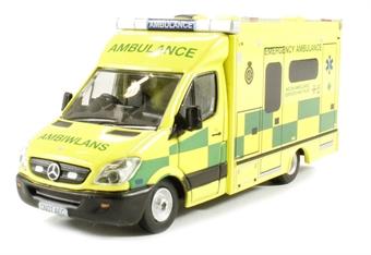 76MA001 Mercedes Sprinter 515 CDi Modern Ambulance - Welsh