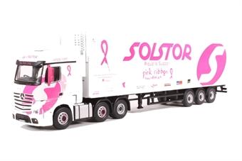 76MB005 Mercedes Actros SSC Fridge Solstor (Breast Cancer - Pink Ribbon Foundation)