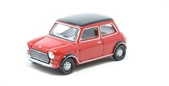 76MCS003 Mini Cooper MkII Tartan Red/Black