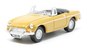 76MGB009 MGB Roadster Bronze Yellow