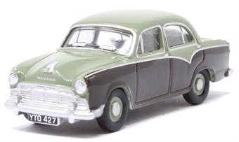 76MO007 Morris Oxford III Sage Green/Twilight Grey