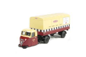"76RAB001 Scammell Scarab van trailer ""British Railways"""