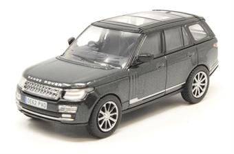 76RAN006 Range Rover Vogue Santorini Black (Prince William)