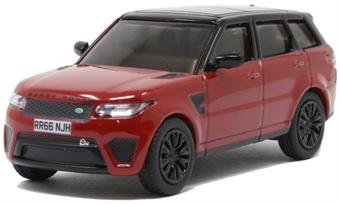 76RRS003 Range Rover Sport SVR Firenze Red