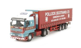 76S143001 Scania 143 40ft Curtainside Pollock