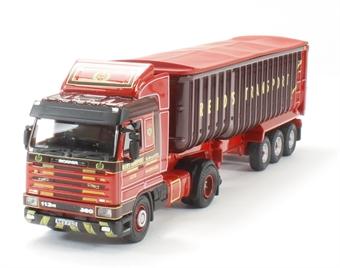 76S143002 Scania 113 Tipper Reids of Minishant