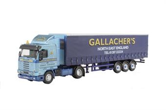 76S143003 Scania 113 40ft Curtainside Gallacher Bros
