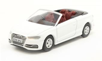 76S3001 Audi S3 Cabriolet Glacier White