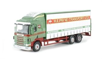 76S94002 Scania 94D Curtainside 'H E Payne'
