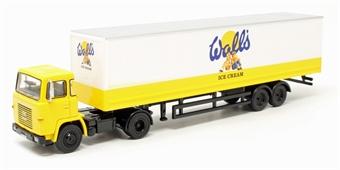 76SC110004 Walls Ice Cream Scania 110 40ft Box Trailer