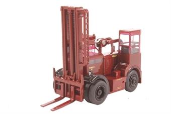 76SDF002 Shelvoke & Drewry Freightlifter British Rail (Crimson)