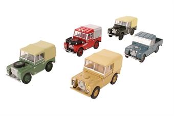 76SET17C Land Rover 5 piece Set