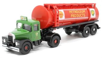 76SHT001 Scammell Highwayman Tanker Shell/BP