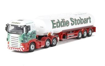 76STOB013 Eddie Stobart Scania Highline Tanker (comes in white box)